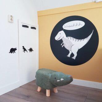 muursticker t rex dinosaurus dino kinderkamer