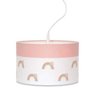 hanglamp regenboog roze meisjeskamer hiphuisjekopie