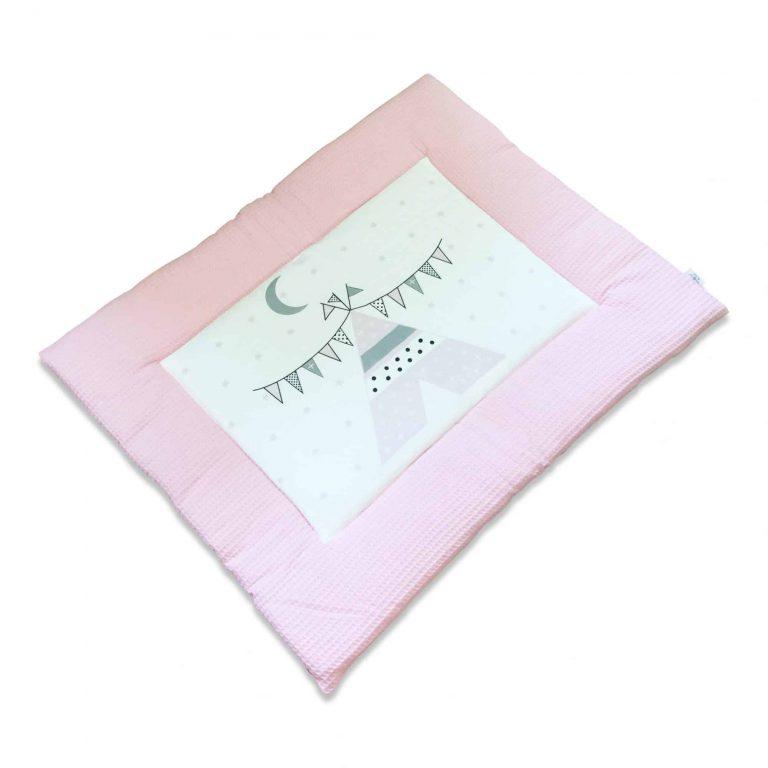 boxkleed roze tipi hiphuisje