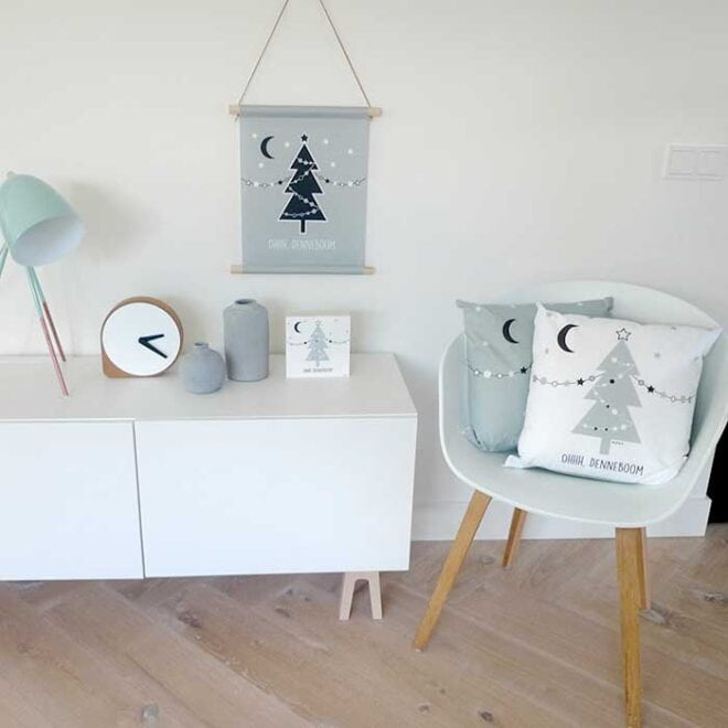 decoratie kerst kinderkamer speelhoek woonkamer kerstversiering hiphuisje 6