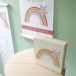 decoratie kinderkamer regenbogen meisje hiphuisje 1