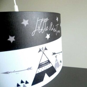detail hangllamp tipi kinderkamer babykamer lamp hiphuisje