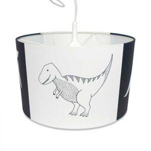 hanglamp dinosaurus zwartwit dino hiphuisje