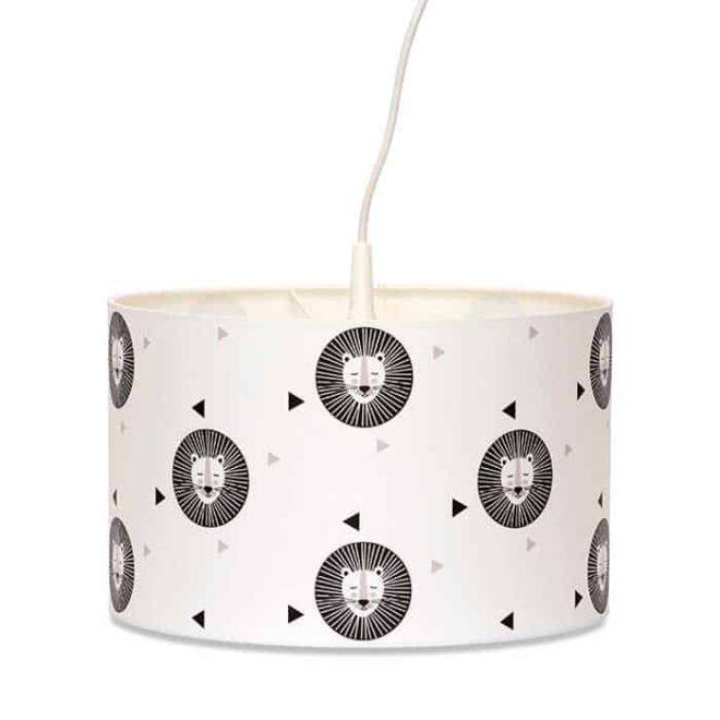 hanglamp leeuw zwartwit hiphuisje 1