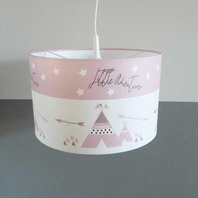 hanglamp roze tipi nieuw meisjeskamer hiphuisje 3