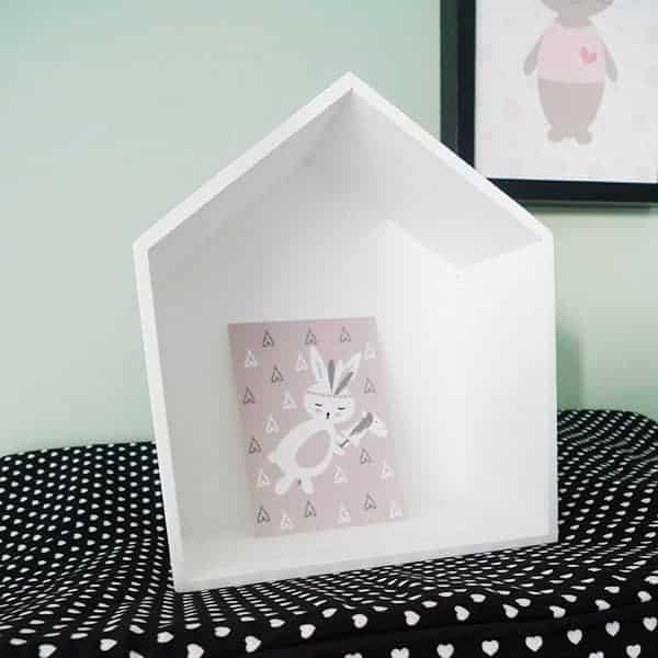 kaartje kinderkameraccessoires Hip Huisje