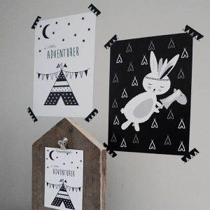 posters Hip Huisje