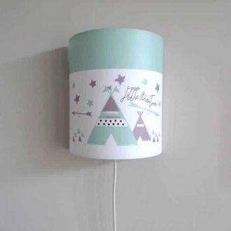 wandlampje groen tipi HipHuisje