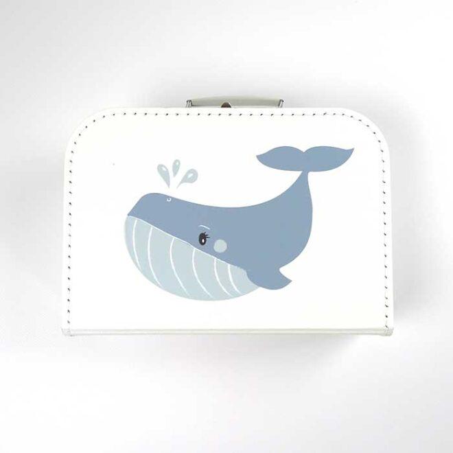 1 koffertje walvis kinderkoffertje hiphuisje