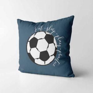 voetbal kussen sierkussen kinderkamer voetbal thema kamer