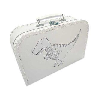 koffertje dinosaurus trex hiphuisje