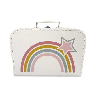 koffertje regenboog regenbogen trend hiphuisje
