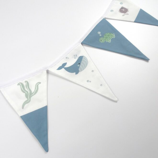 detail vlaggenlijn walvis baykamer styling hiphuisje
