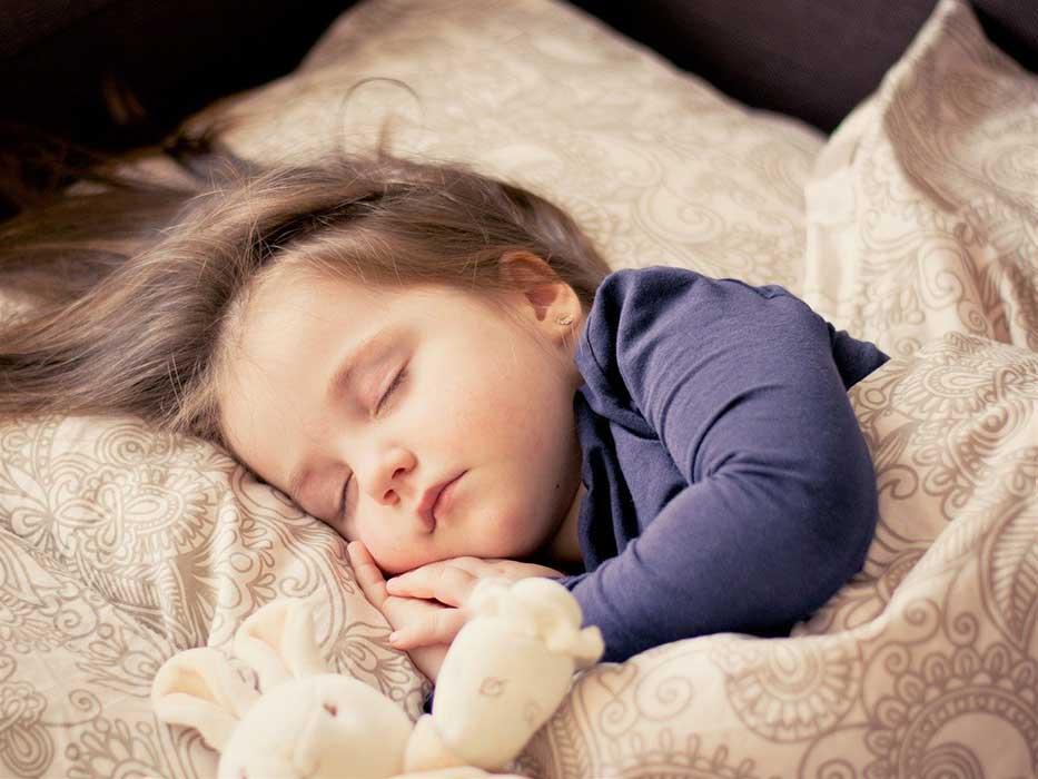 meisje slapen kinderkamer hiphuisje