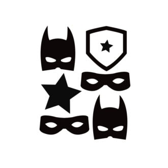 muurstickers superhero hiphuisje