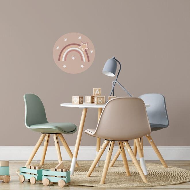 sfeer muurcirkels regenboog 30cm
