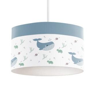 hanglamp walvis blauw hip huisje