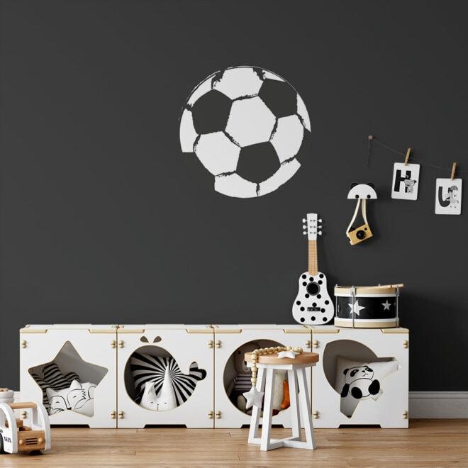 muurcirkels voetbal 40cm hiphuisje